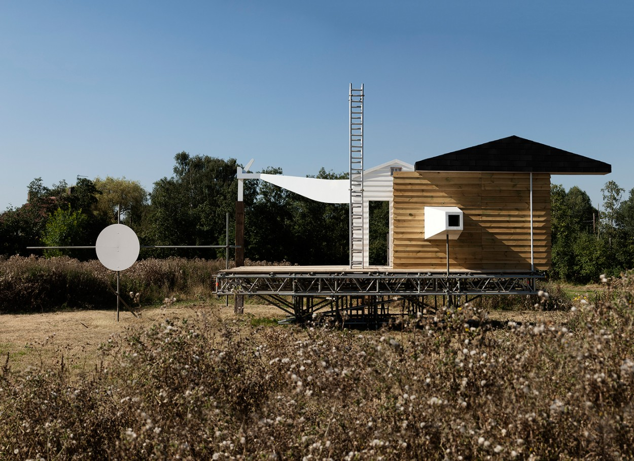 Writtle Calling a temporary Radio Station by Matthew Butcher and Melissa Appleton